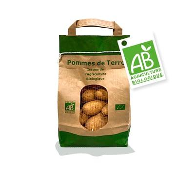 Sachet en papier de pommes de terre bio Kultive