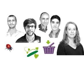 Portraits de l'équipe commerciale et administrative Kultive