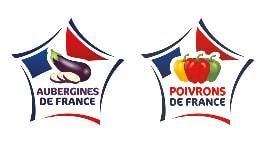 Logo des labels aubergines et poivrons de France