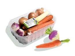 Barquette de mélange de légumes pour pot-au-feu Kultive