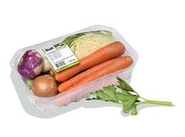 Barquette de mélange de légumes Kultive pour purée, soupe et potée