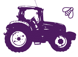 Dessin du tracteur Kultive